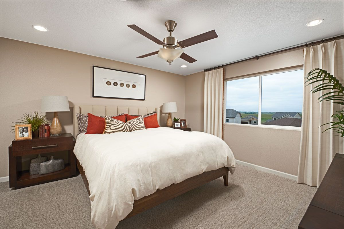 Bedroom featured in the Citrine By Richmond American Homes in Colorado Springs, CO