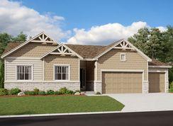 Daniel - Oak Ridge at Crystal Valley: Castle Rock, Colorado - Richmond American Homes