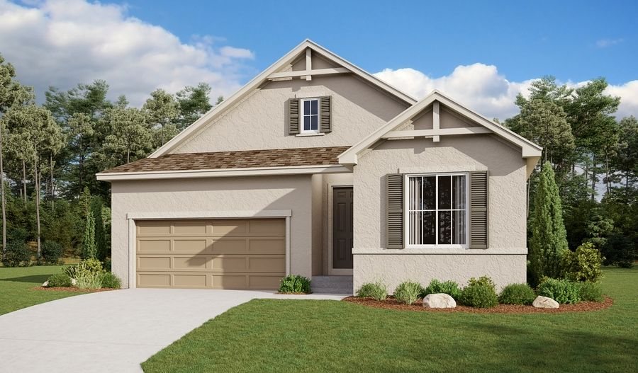 Exterior featured in the Arlington By Richmond American Homes in Pueblo, CO
