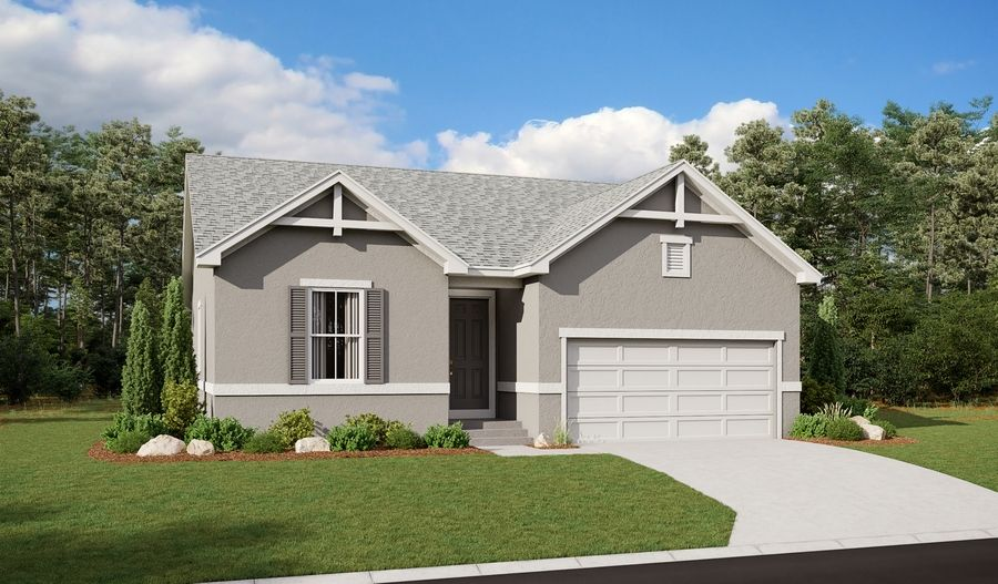 Exterior featured in the Ponderosa By Richmond American Homes in Pueblo, CO