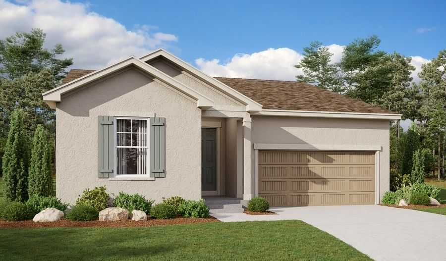 Exterior featured in the Alexandrite By Richmond American Homes in Pueblo, CO