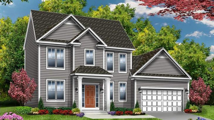 The Brentwood:Elevation 1