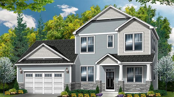 The Briarwood:Craftsman Elevation