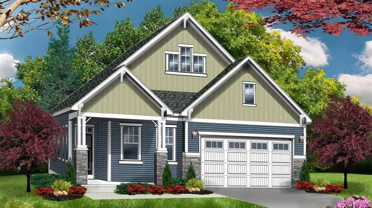 The Kingston:Cottage Elevation