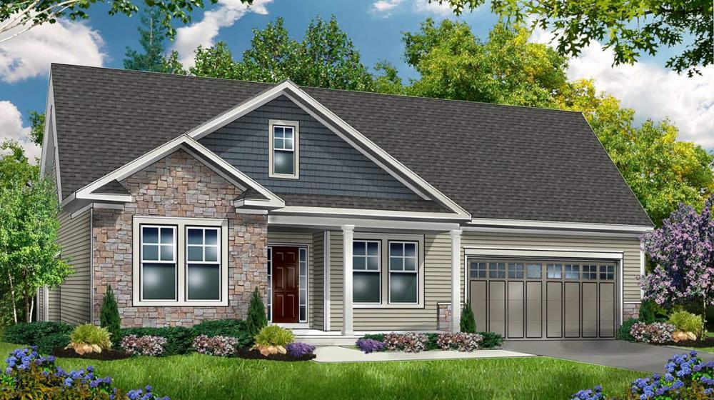 Exterior featured in The Somerfield By Riedman Homes in Rochester, NY