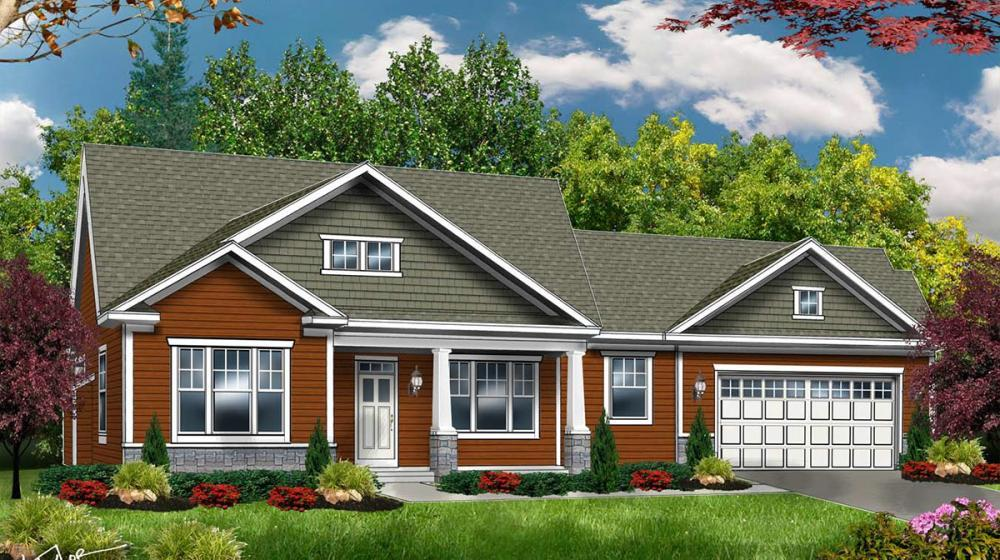 Exterior featured in The Fairfield By Riedman Homes in Rochester, NY