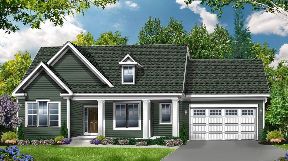 Exterior featured in The Wellfleet By Riedman Homes in Rochester, NY