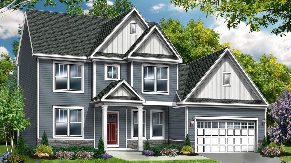 Exterior featured in The Linden By Riedman Homes in Rochester, NY