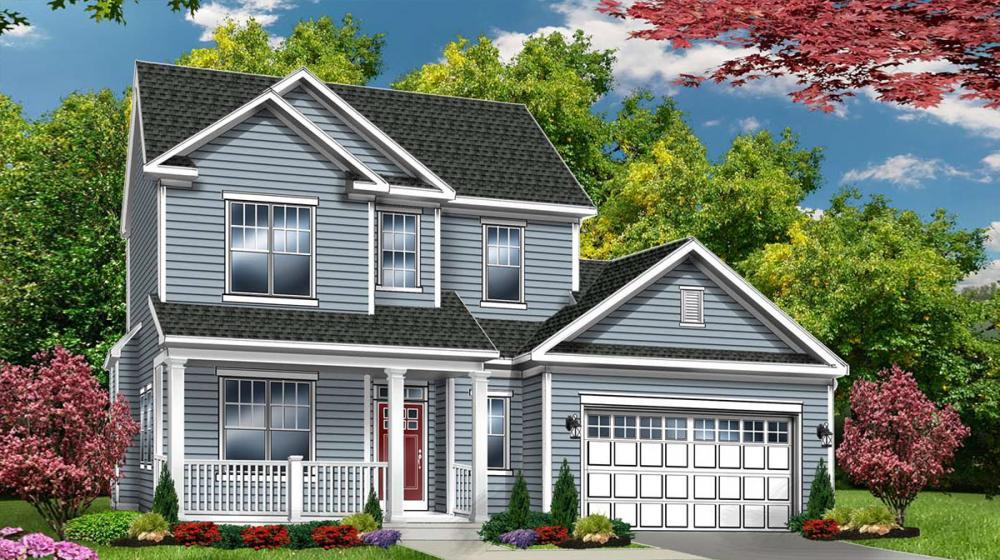 Exterior featured in The Rockingham By Riedman Homes in Rochester, NY