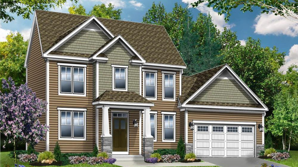 Exterior featured in The Brentwood By Riedman Homes in Rochester, NY