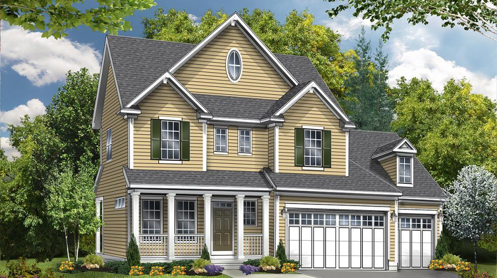 Exterior featured in The Lexington By Riedman Homes in Rochester, NY