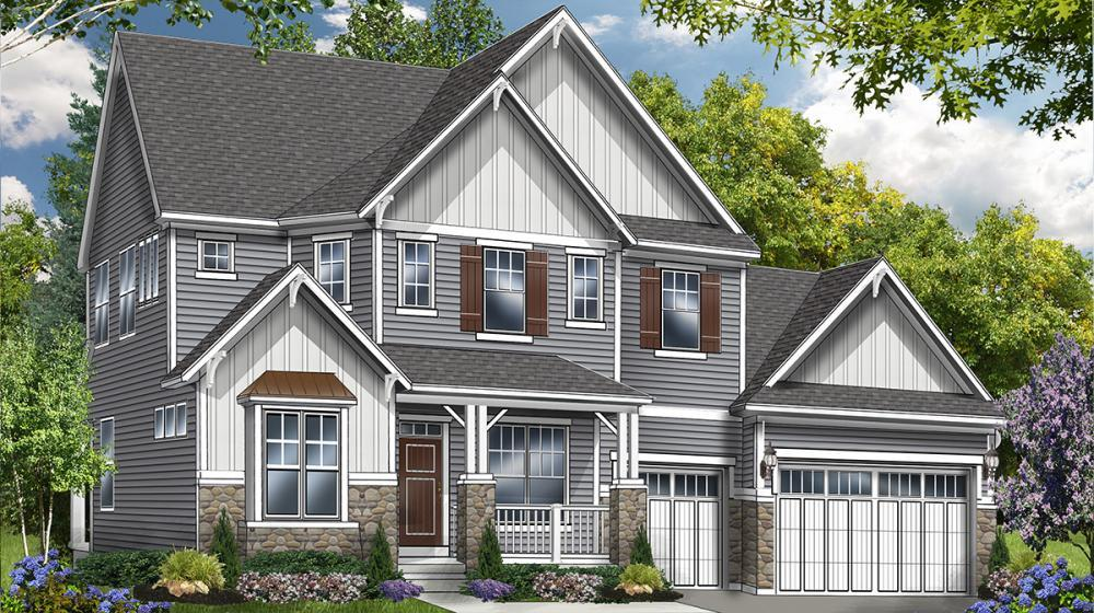 Exterior featured in The Hawthorne By Riedman Homes in Rochester, NY
