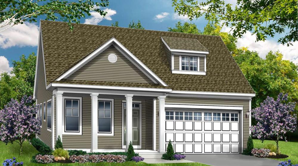 Exterior featured in The Clayton By Riedman Homes in Elmira, NY