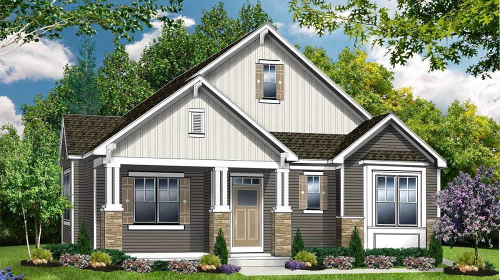 Exterior featured in The Oxford By Riedman Homes in Rochester, NY