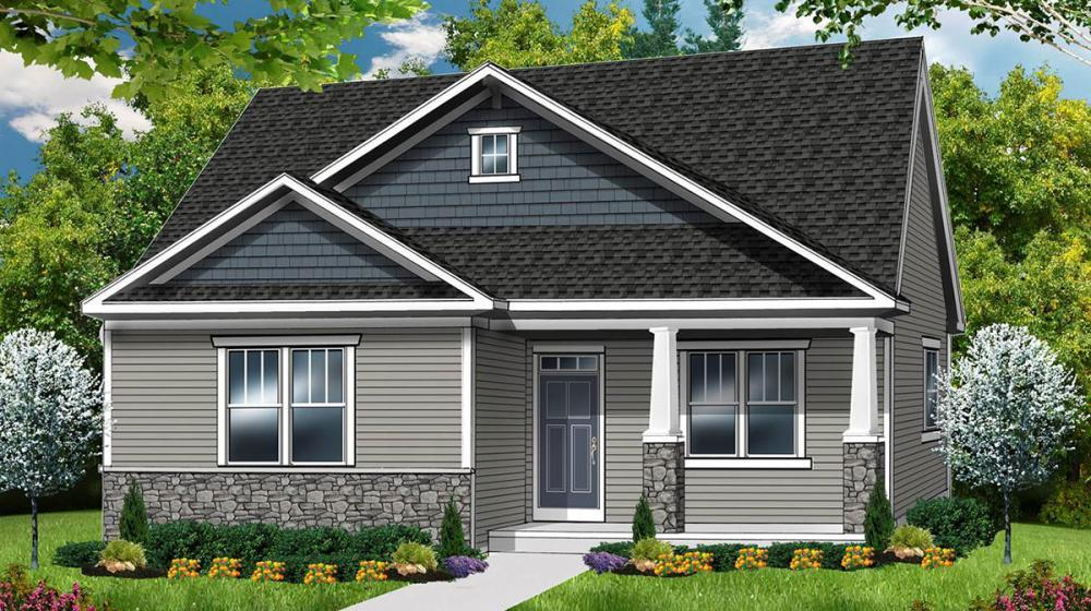 Exterior featured in The Camden By Riedman Homes in Rochester, NY