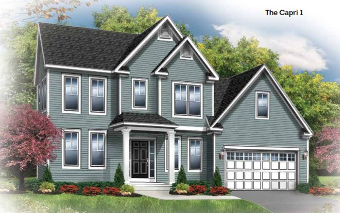 Exterior featured in The Capri By Riedman Homes in Rochester, NY