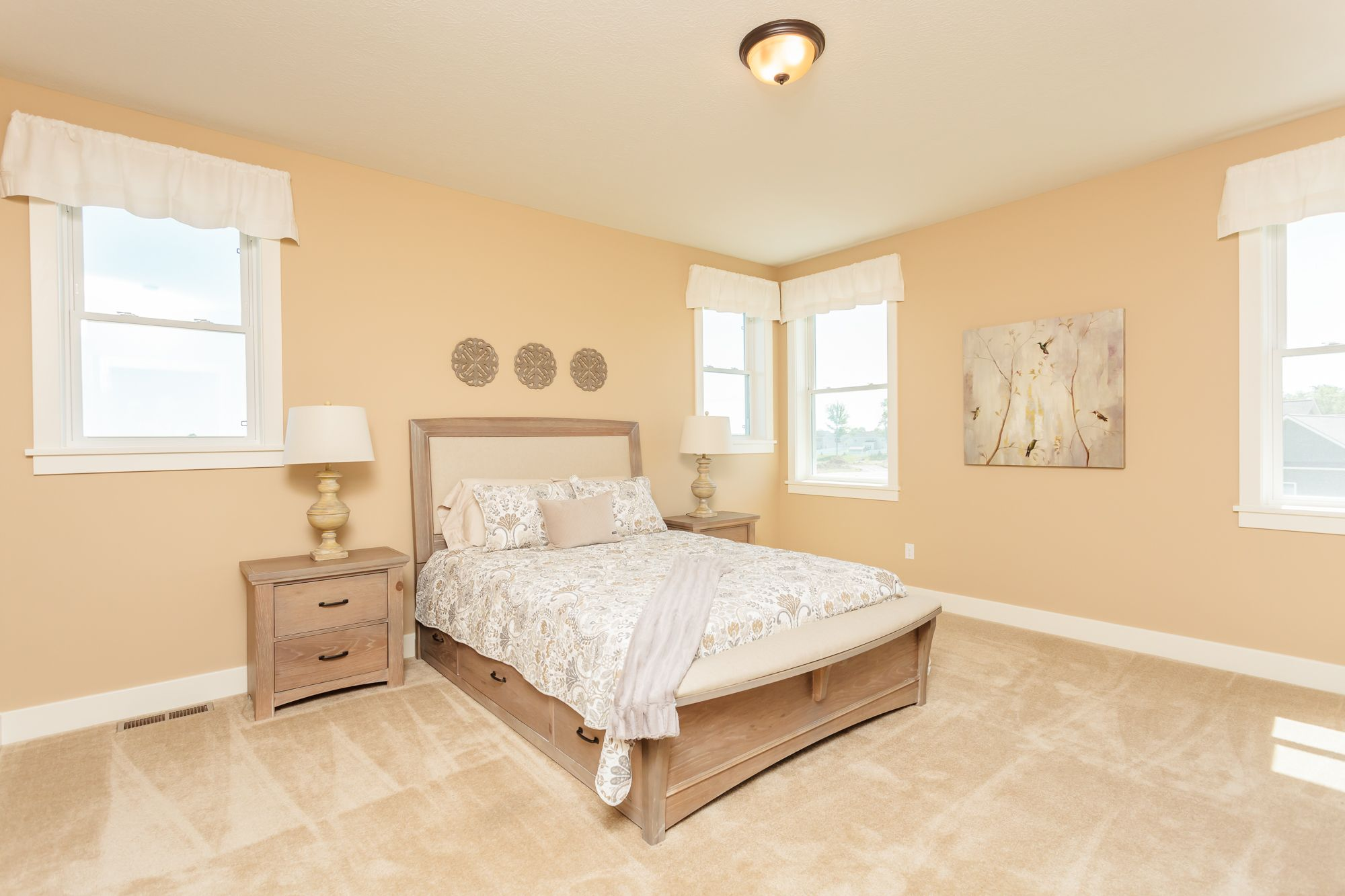 Bedroom featured in The Lexington By Riedman Homes in Rochester, NY