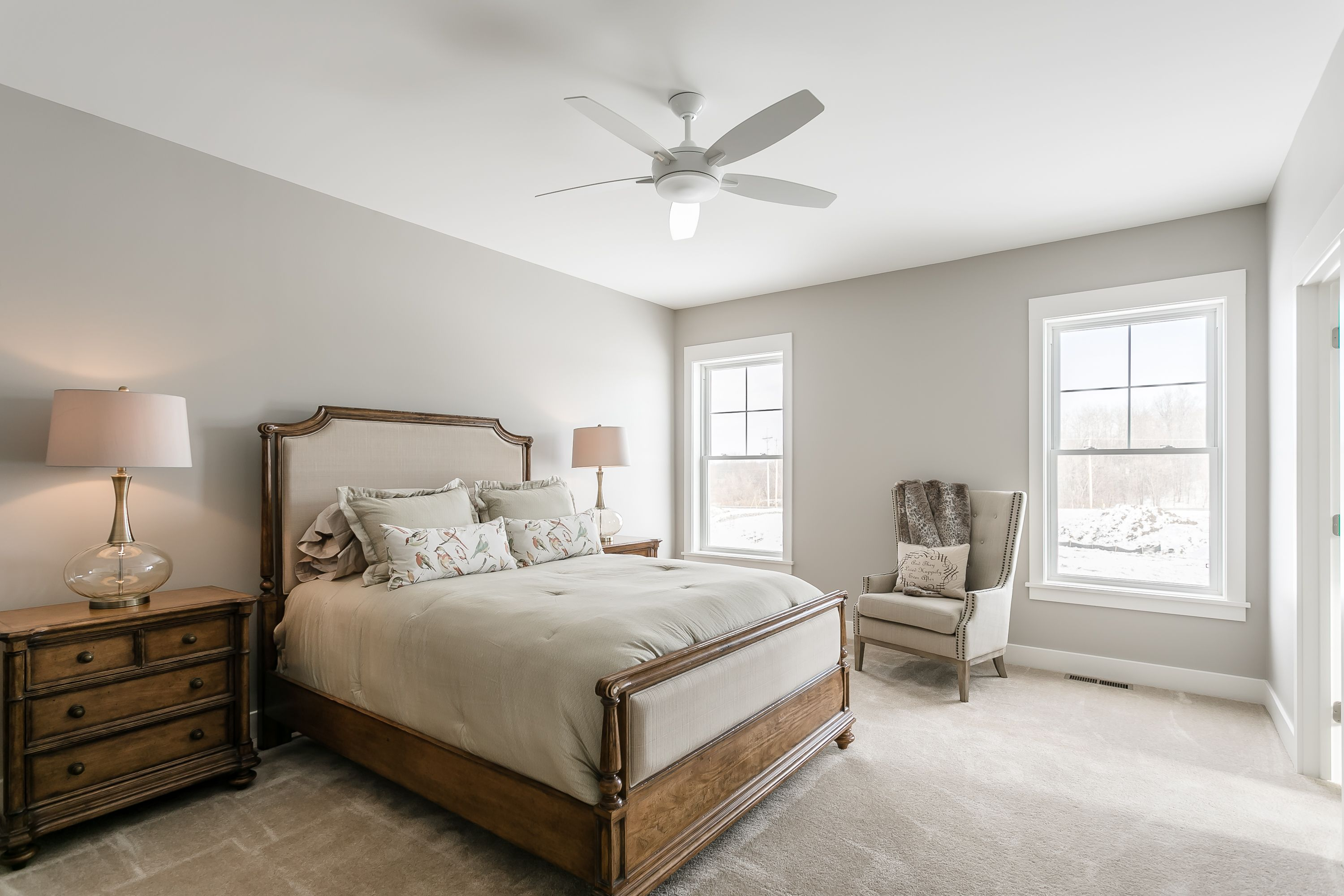 Bedroom featured in The Wellfleet By Riedman Homes in Rochester, NY