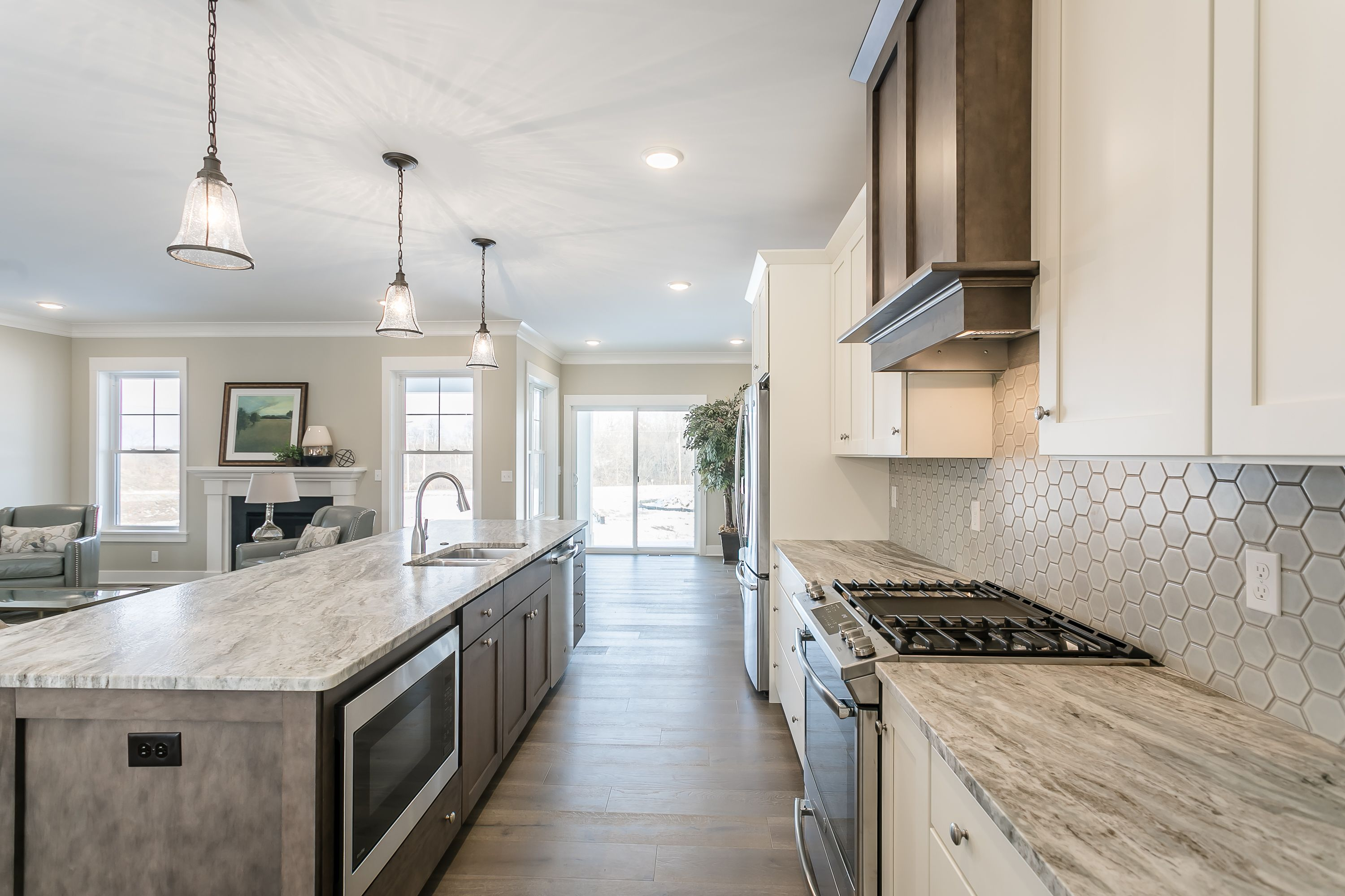 Kitchen featured in The Wellfleet By Riedman Homes in Rochester, NY