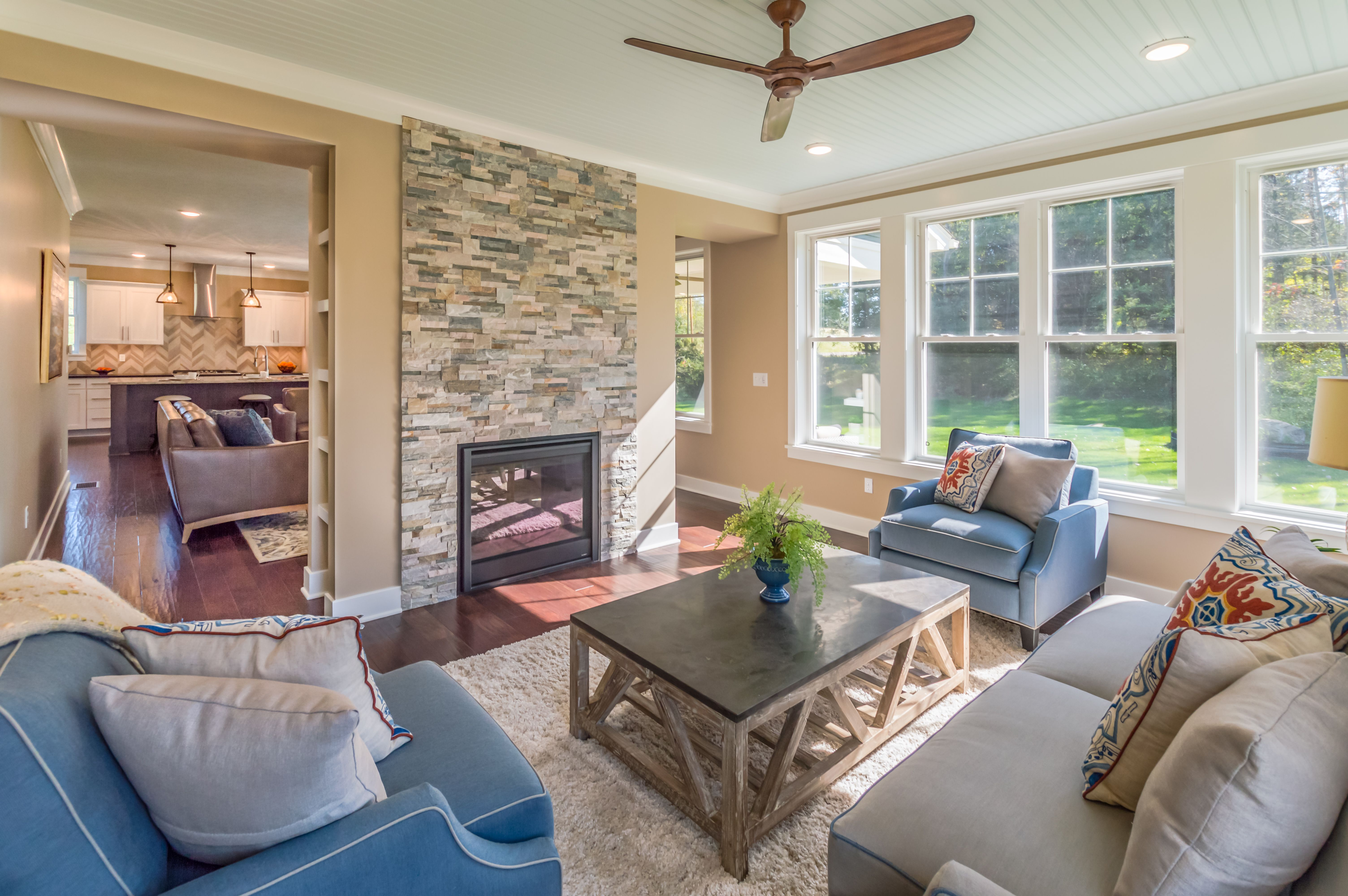 Living Area featured in The Woodbury By Riedman Homes in Rochester, NY