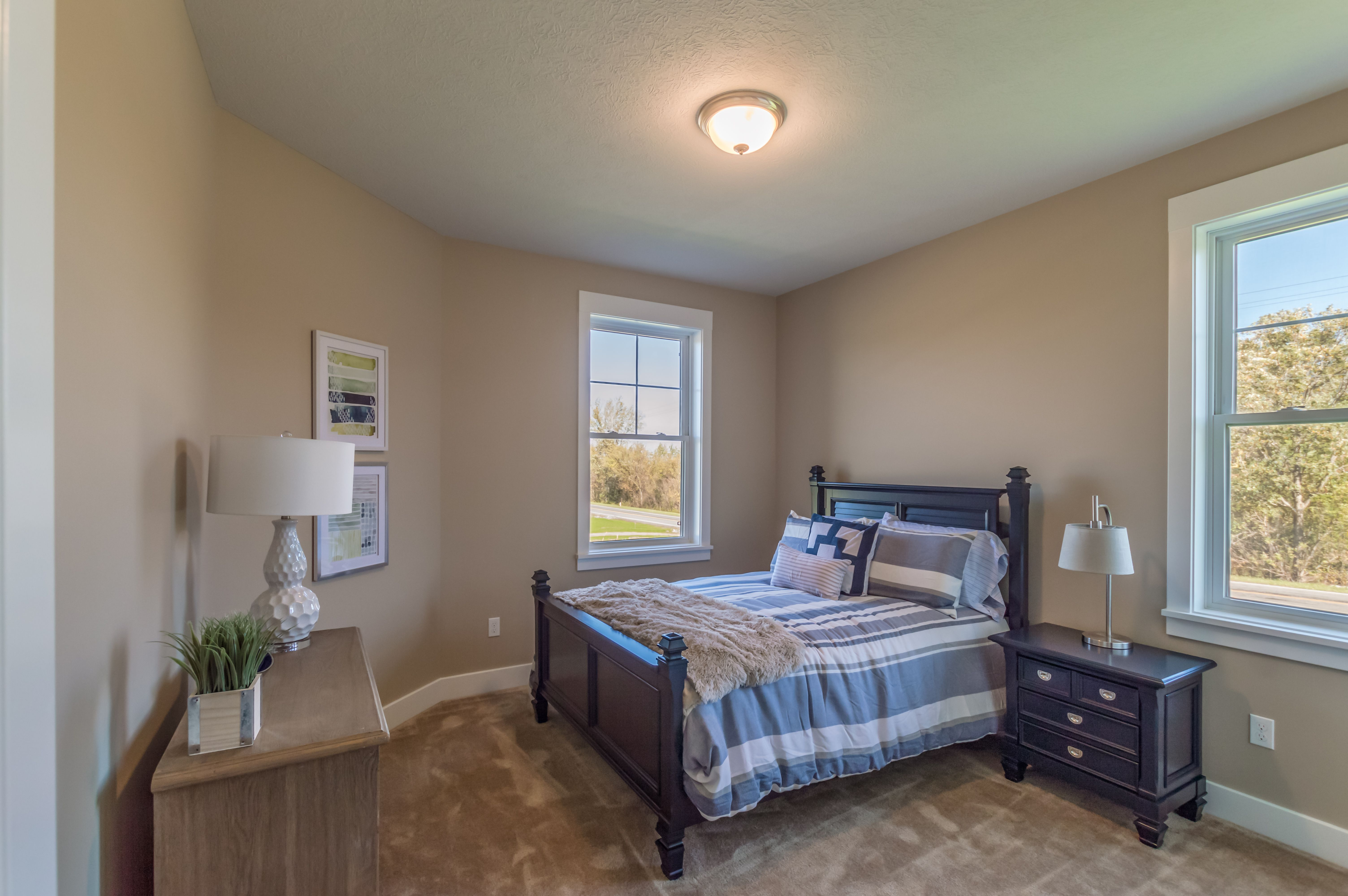 Bedroom featured in The Woodbury By Riedman Homes in Rochester, NY