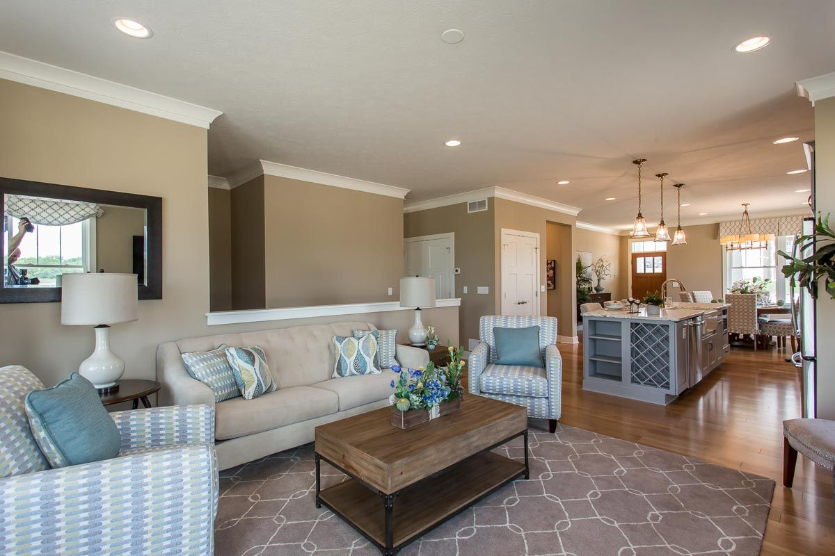 Living Area featured in The Greenport By Riedman Homes in Elmira, NY