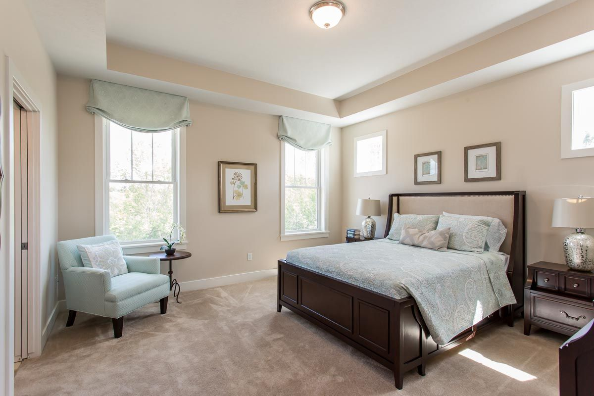 Bedroom featured in The Greenport By Riedman Homes in Elmira, NY