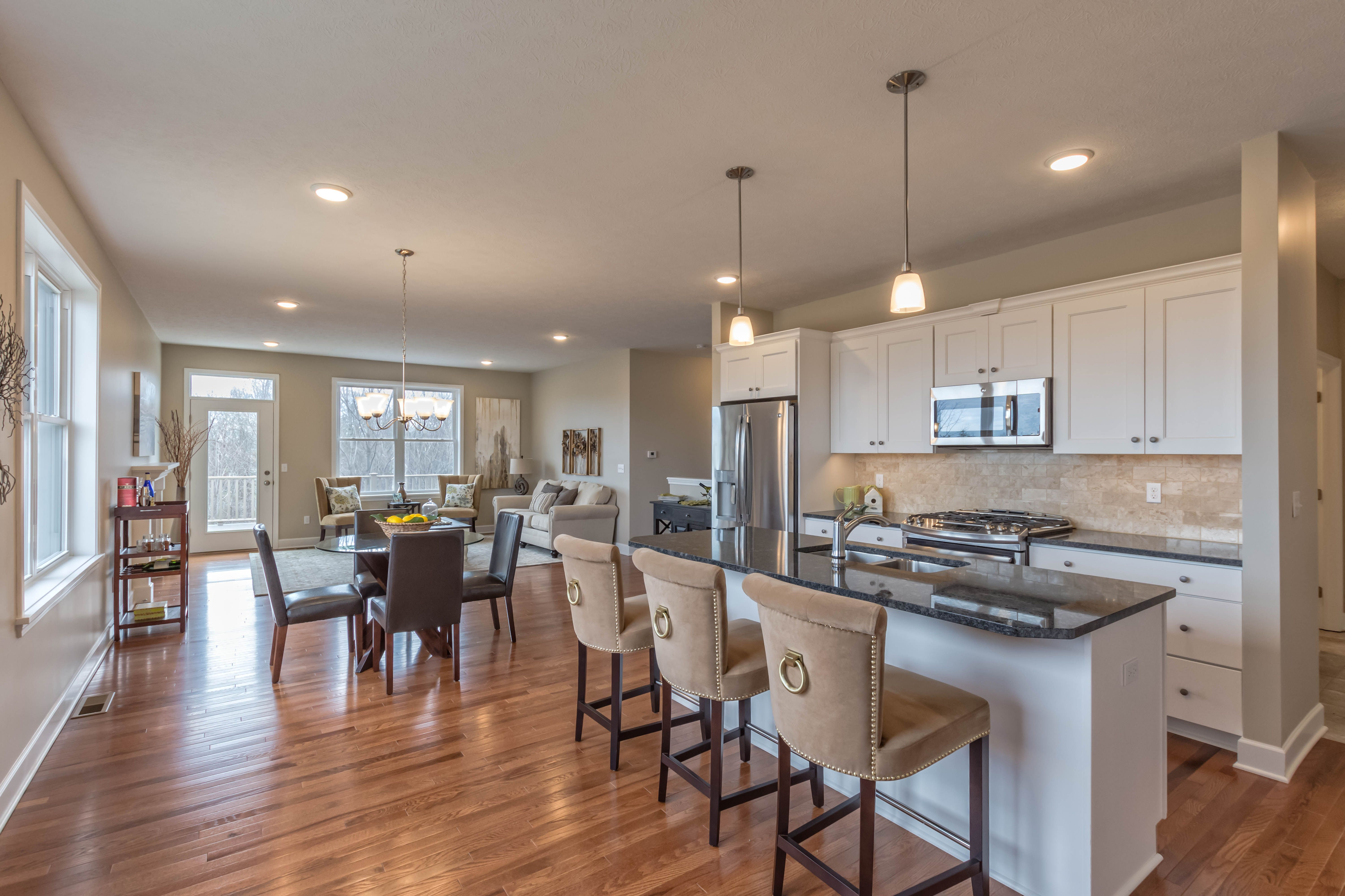 Living Area featured in The Kingston By Riedman Homes in Elmira, NY