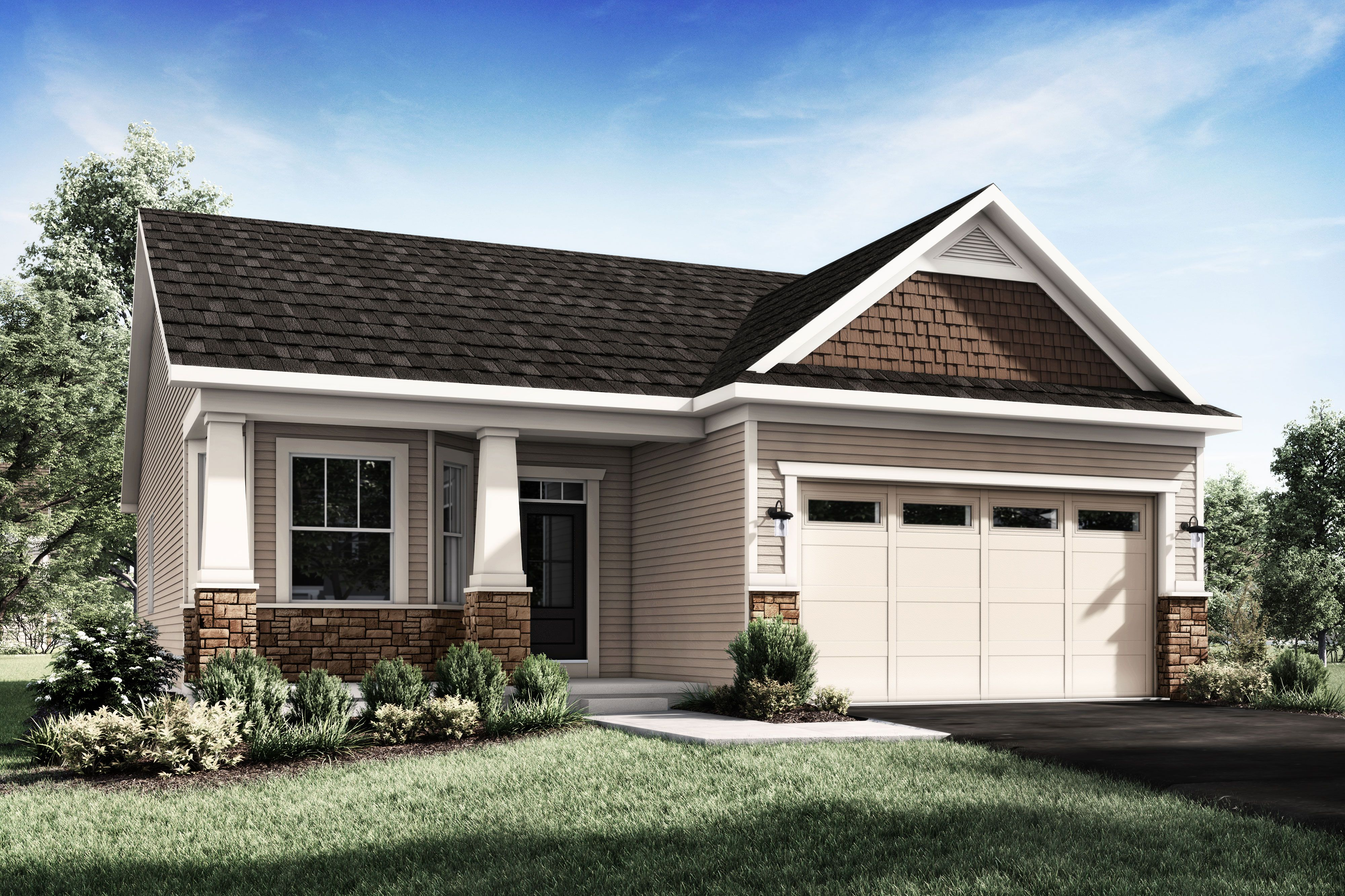 Exterior featured in The Charleston By Riedman Homes in Elmira, NY