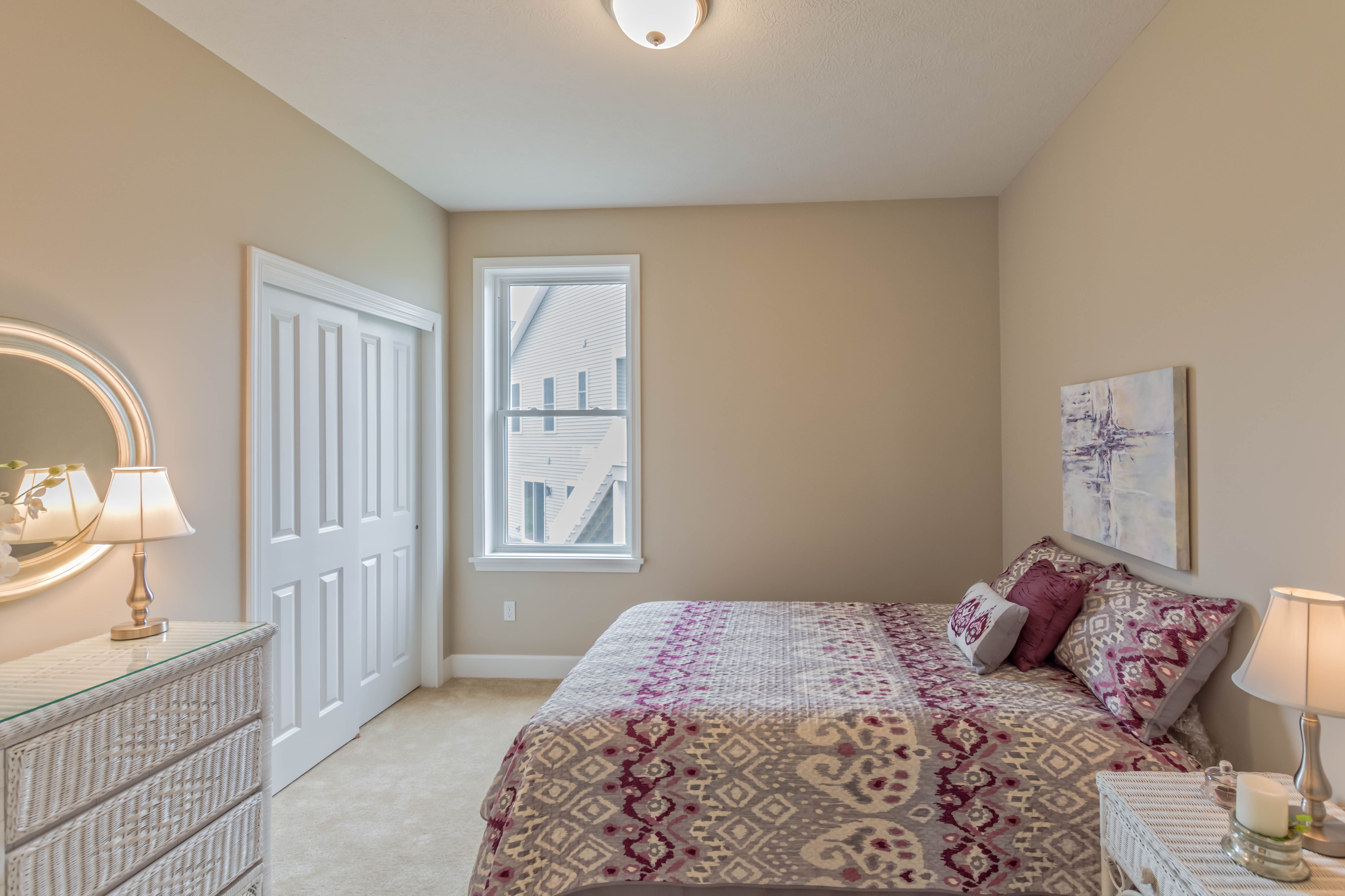 Bedroom featured in The Kingston By Riedman Homes in Rochester, NY