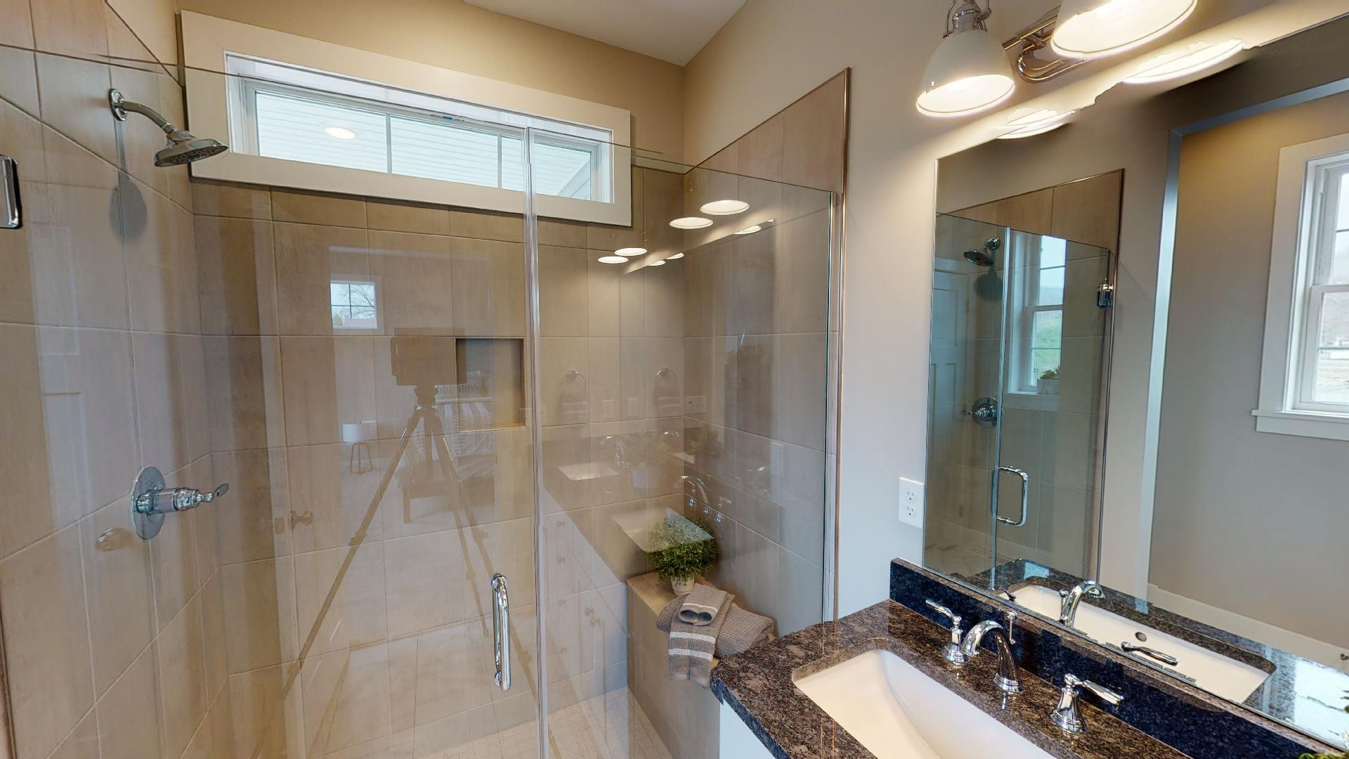 Bathroom featured in The Greenport By Riedman Homes in Elmira, NY