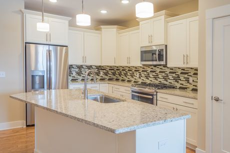 Kitchen-in-Unit B-2 @ Canalside-at-The Residences at Canalside-in-Fairport