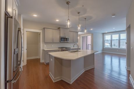 Kitchen-in-Unit A-2 @ Canalside-at-The Residences at Canalside-in-Fairport