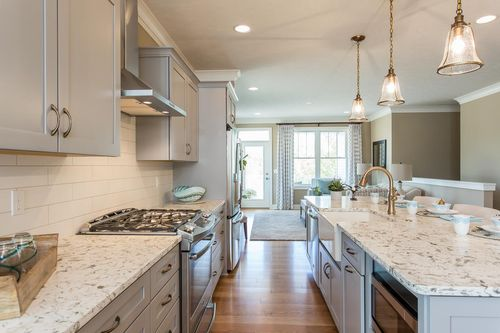 Kitchen-in-The Greenport-at-The Cottages at Canandaigua-in-Canandaigua