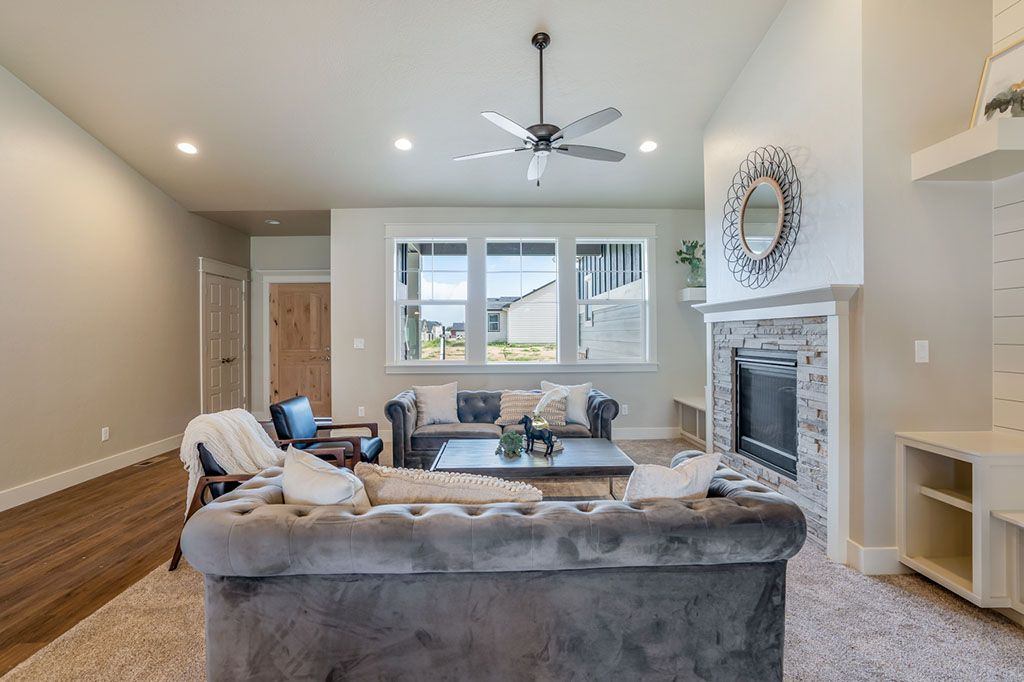 Living Area featured in the Craftsman Bungalow By New Beginning Homes in Boise, ID
