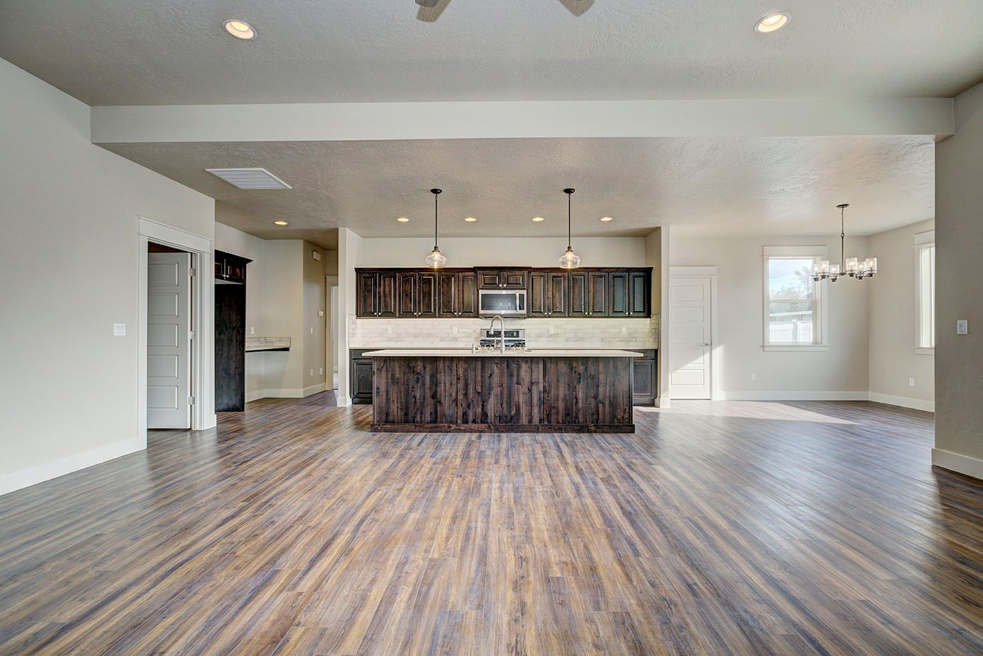 Kitchen featured in the Willows Bungalow By New Beginning Homes in Boise, ID