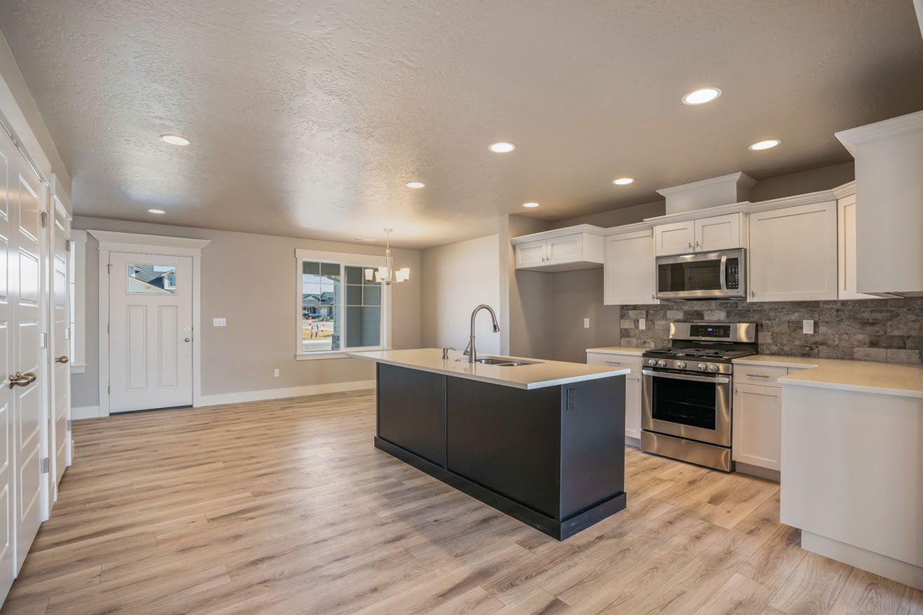 Kitchen featured in the Welcome Ranch By New Beginning Homes in Boise, ID