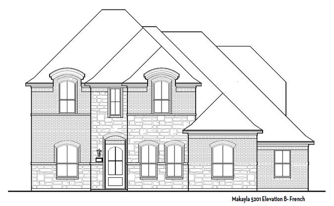 Elevation A- Tudor Style