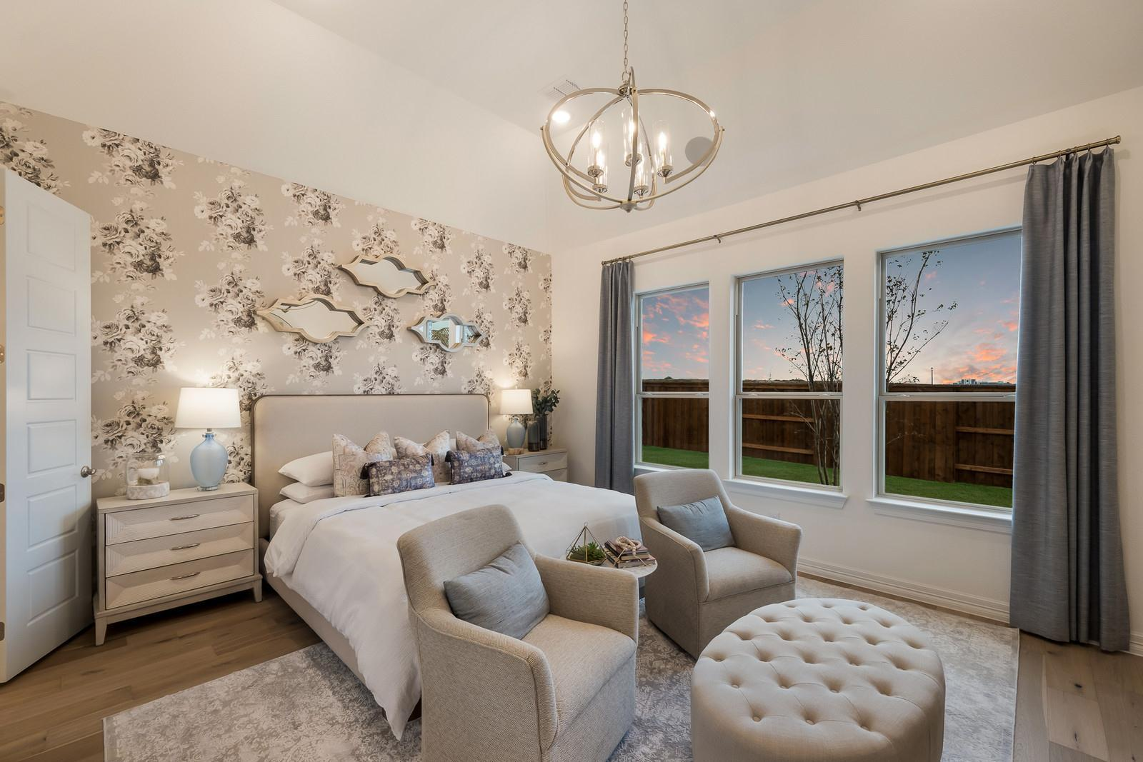 Bedroom featured in the Bella Rose 6201 By Risland Homes in Dallas, TX