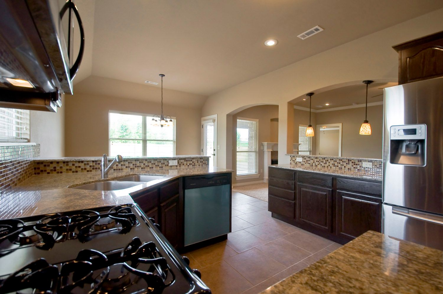 Kitchen featured in the Ouachita 1669 By Riverwood Homes - Arkansas in Fayetteville, AR