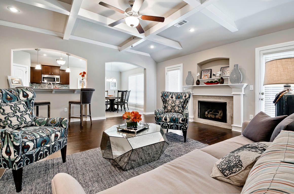 Living Area featured in the Ouachita 1669 By Riverwood Homes - Arkansas in Fayetteville, AR