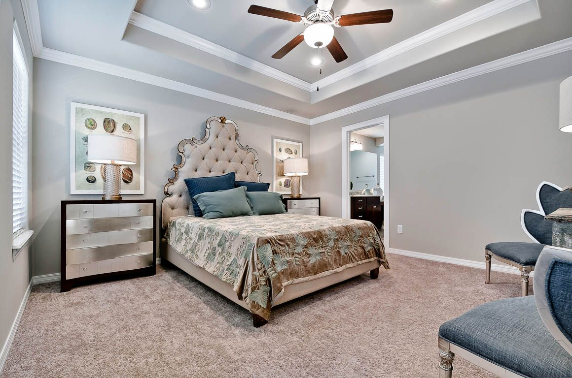 Bedroom featured in the 1669 By Riverwood Homes - Arkansas in Fayetteville, AR