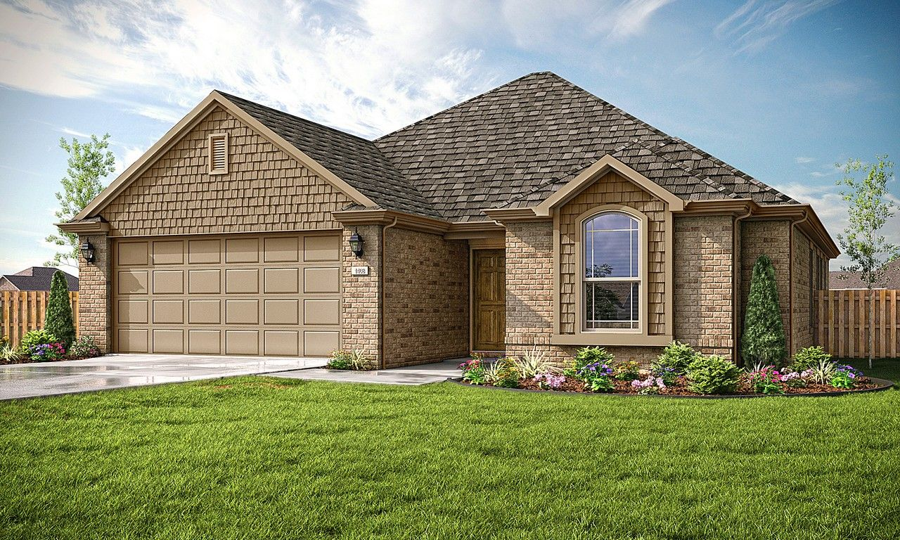 Exterior featured in the 1408 By Riverwood Homes - Arkansas in Fayetteville, AR