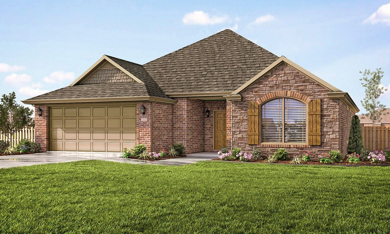 Exterior featured in the 1669 By Riverwood Homes - Arkansas in Fayetteville, AR