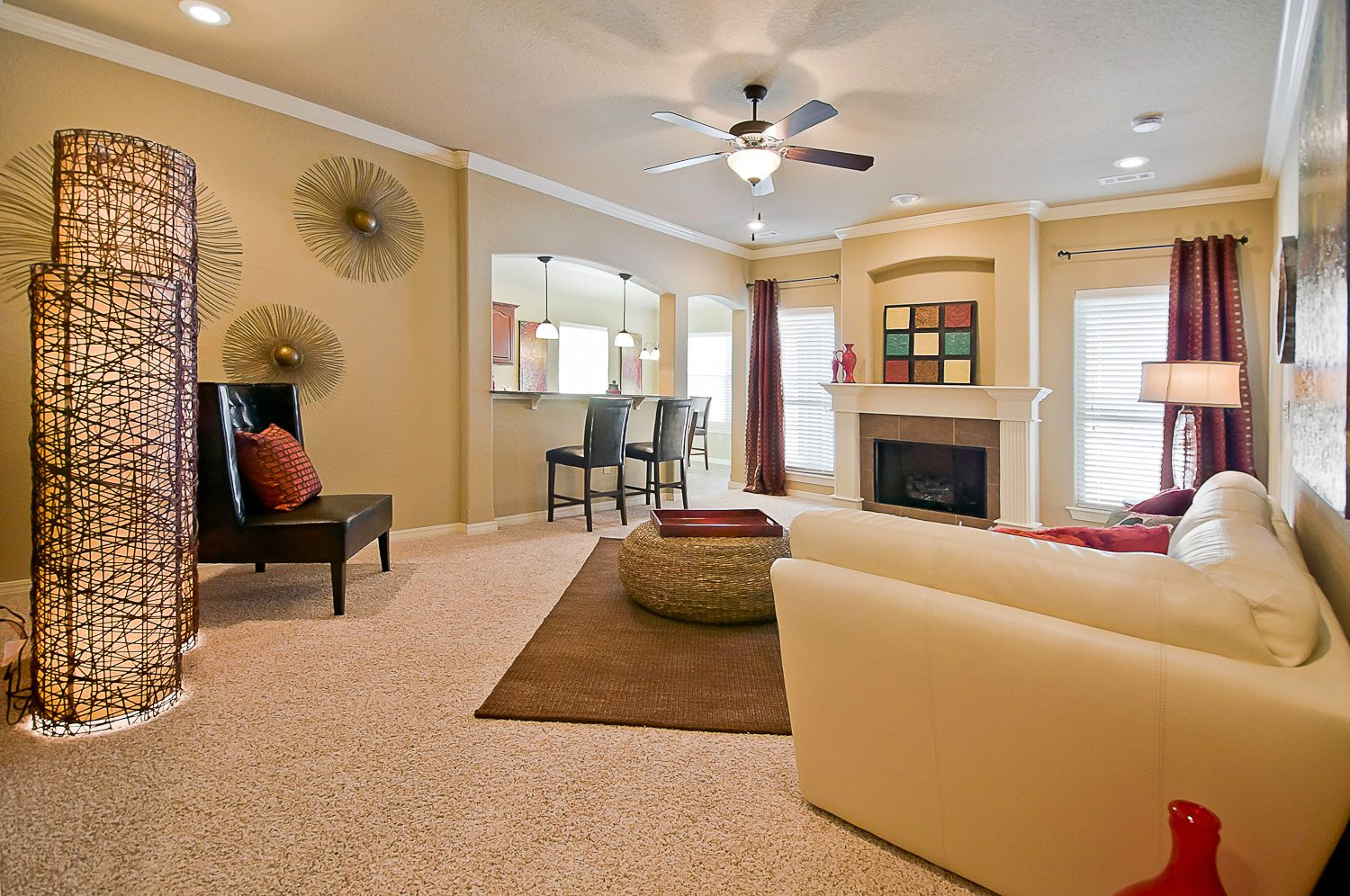 Living Area featured in the Pine 1408 By Riverwood Homes - Arkansas in Fayetteville, AR