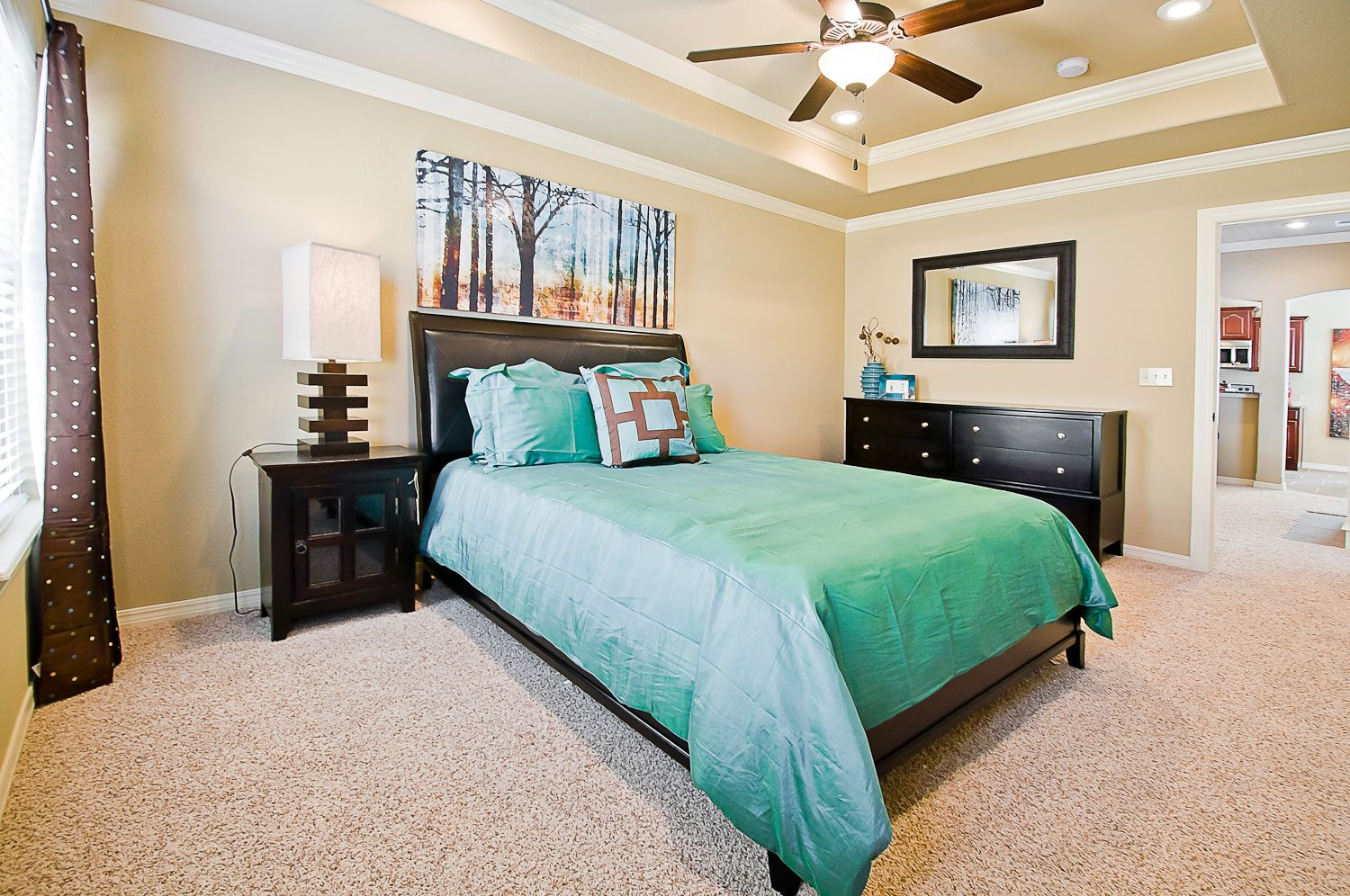 Bedroom featured in the 1408 By Riverwood Homes - Arkansas in Fayetteville, AR