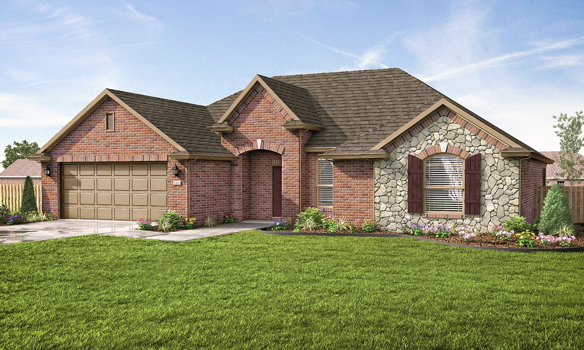 Exterior featured in the Hamilton 1787 By Riverwood Homes - Arkansas in Fayetteville, AR