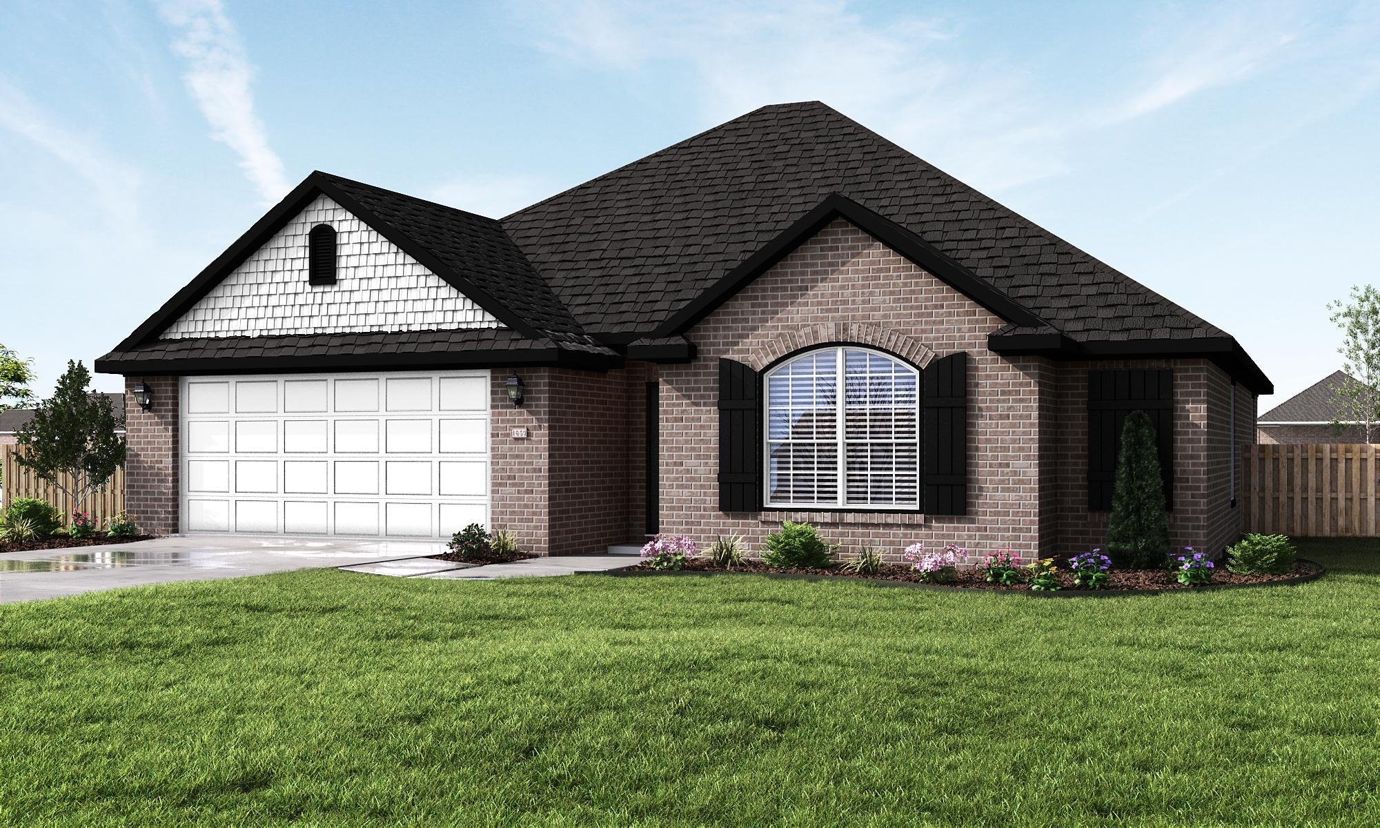 Exterior featured in the 1659 By Riverwood Homes - Arkansas in Fayetteville, AR