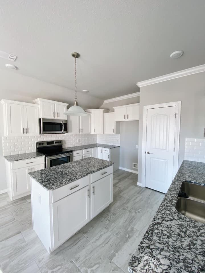 Kitchen featured in the 1659 By Riverwood Homes - Arkansas in Fayetteville, AR