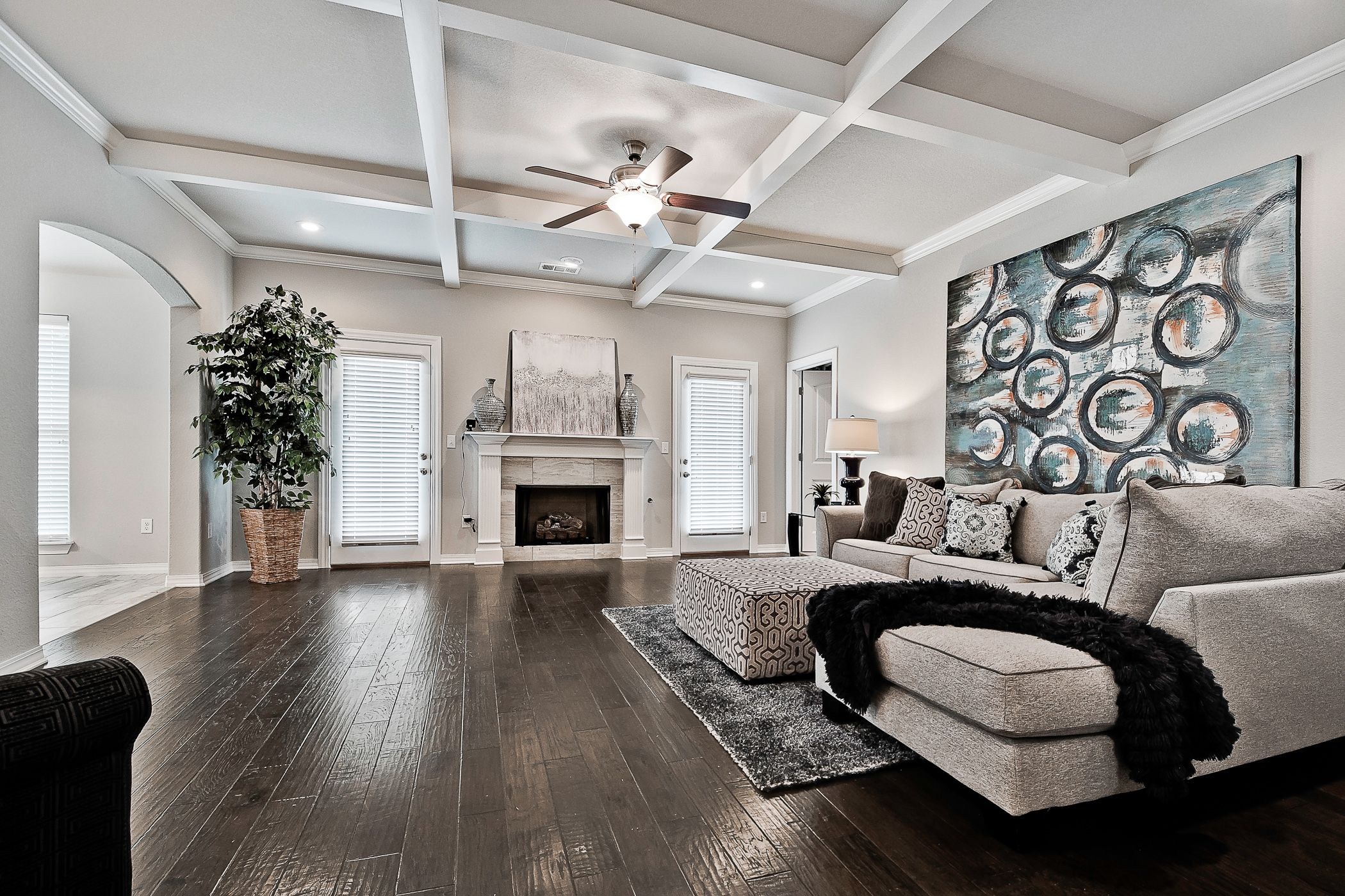 Living Area featured in the Maple 1659 By Riverwood Homes - Arkansas in Fayetteville, AR